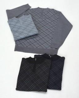 【紳士】ハイジップセーター地柄 12枚