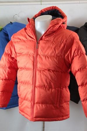 メンズ マイクロドビー中綿 フーデッドジャケット 5色展開 15枚セット 品番:10495491