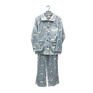 【レディース】18AW-015 もこもこベーシックパジャマ(ユニコーン柄)15枚