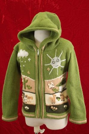 南米系有名チェーン店の処分品 ペルー製手編み BABY用ニット 50枚服箱 先着5箱だけ 画像使用OK