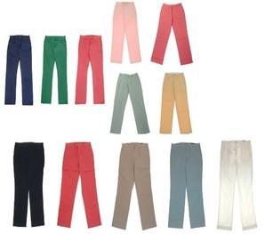 【RALPH LAUREN】メンズ カラーパンツ&スラックス こみこみ 25本セット 4箱限定! 定価印字あり!デパート商品