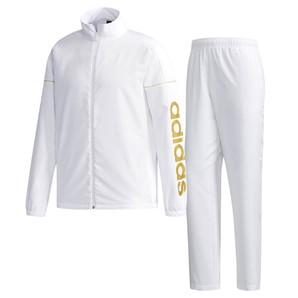 adidas  M ESS ビッグリニアロゴクロス ジャケット&パンツ ETZ75&ETZ72