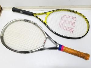 ユーズド特価!ウィルソンテニスラケット 2本セット!ケース付き