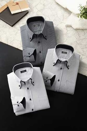 アローズ系ブランド 紳士高級ドレスシャツ A品 画像は前回の物ですイメージ バラ42枚
