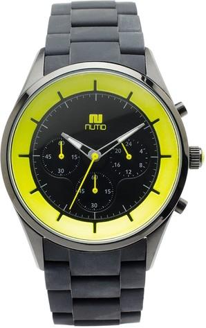 [ヌーティッド]NUTID 腕時計 CRATER(クレーター) クロノグラ-フ 4カラー 4本入り