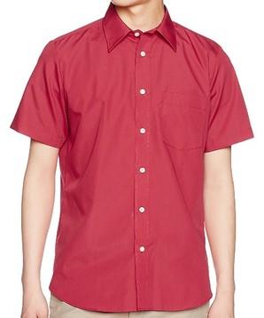 AIMY メンズ 半袖ブロードシャツ 00809-SBM 5色こみこみアソート20枚セット