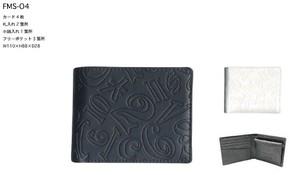フランク三浦 2ッ折財布 札入れ 2品番2カラー 12個セット