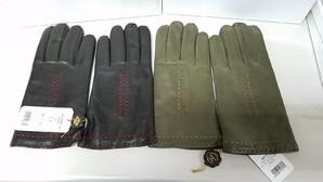 通販会社在庫処分!オロビアンコ 紳士本革ウール手袋 2色展開 箱付き7双入り