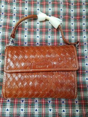 処分!Beverly イタリア製  本牛革使用 高級ショルダー ポシェット 財布  箱付き5個セット