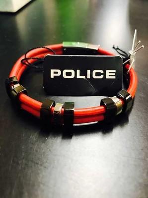 お宝発見Σ(゚Д゚) ポリス POLICE ブレスレット  メンズ TANPA タンパ レザーブレスレット  上代¥8000