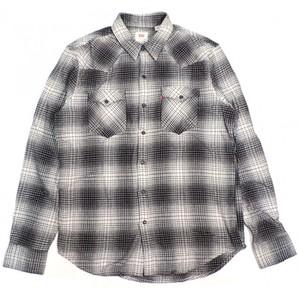 LEVIS メンズ ウエスタンネルシャツ 小ロット 格安販売