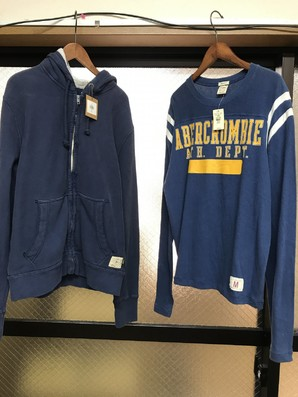 Abercrombie & Fitch  RUEHLNo,925 パーカー 長袖Tシャツ 二着限定SET!