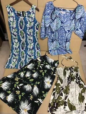 IOLANIやROYALGREATIONSなど他ハワイ製のワンピースやスカートのSET!7着