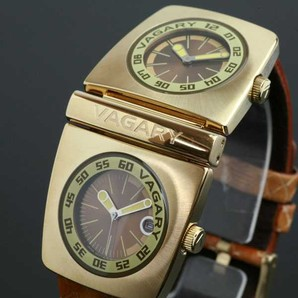 お宝発見Σ(゚Д゚)バガリー VAGARY ユニセックス 腕時計3個SET★上代価格¥23100