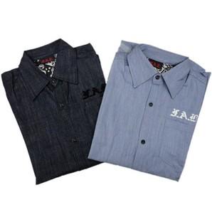 FAB メンズ シャンブレーシャツ 26枚限定