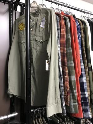 VOLCOM メンズ長袖シャツ 混み混み20枚セット