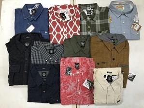 復活【VOLCOM】ボルコム L/Sシャツ こみこみ19枚 上代¥9200~¥13800の商品!