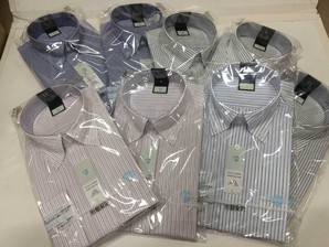 フレックス社 高級半袖 形態安定 Yシャツ 20枚セット !5月12日分