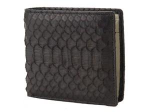 ロダニア RODANIA パイソン 二つ折財布  高級皮革 2柄 2個入り