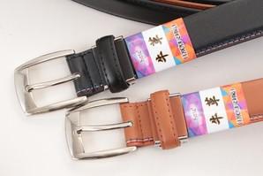 【メンズ】本革高級牛革ベルト 120㎝まで対応! 売れ筋バックルアソートセット