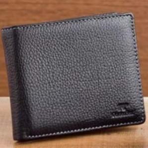 ゴールデンベアー メンズ本革製 2つ折り財布 28個セット