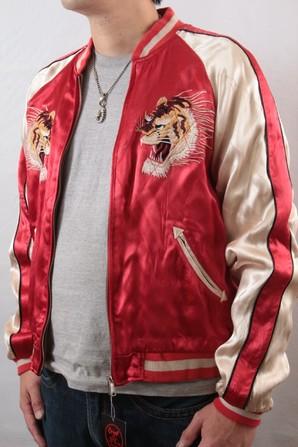 ストーンズのキースリチャードのステージ衣装も手がける オリエントエクスプレス スカジャン! Sサイズ 1点のみ!定価19800円 画像使用OK