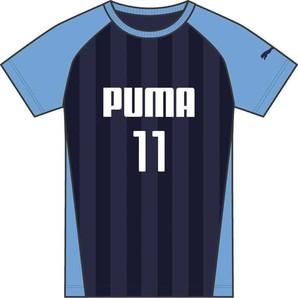PUMA プーマ【ジュニア トレーニングウェア】SS Tシャツ 591884 06PEACOAT 9枚セット!