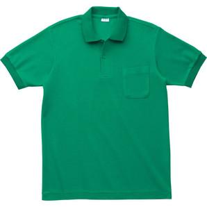 5.3オンス 日本製ポロシャツ (ポケット付)無地 24枚セット