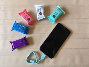 Candy Cable USB⇔ライトニングタイプ 色とりどりのおまかせ50個アソート!
