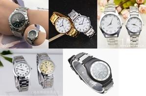 紳士腕時計  5種100本アソート !