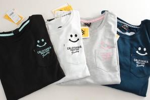 ラスティー レディース ニコちゃん ロンT 長袖 Tシャツ L/S RUSTY 957070 8枚セット