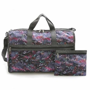 LeSportsac レスポートサック ボストンバッグ LARGE WEEKENDER PASTILE S 2個セット