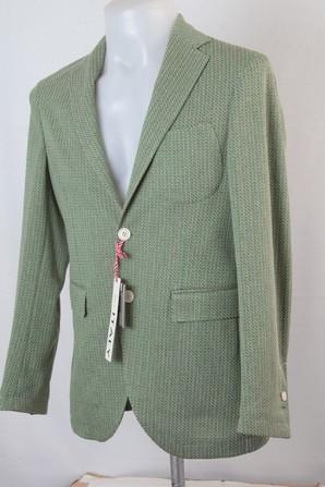[G-stage] ITALY製 高級メンズジャケット ライトグリーン  上代:59000円が1000円