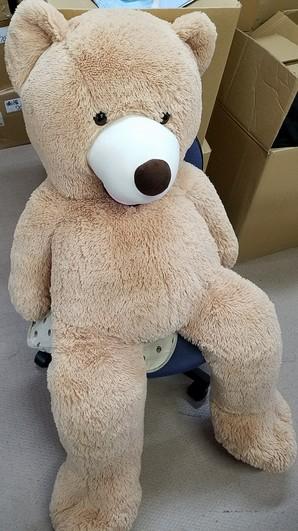 リサイクル特価!クマのぬいぐるみ BIGサイズ 状態綺麗 在庫1個のみ