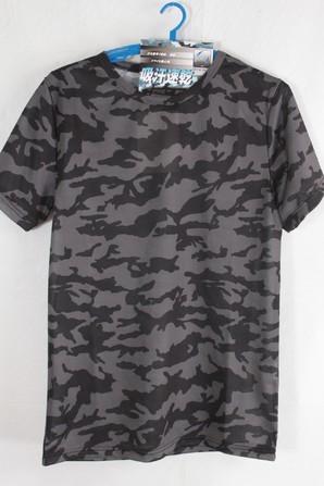 メンズ 抗菌消臭接触冷感迷彩 ドライ クルーネック Tシャツ 30枚 11009271