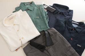 【REPLAY/リプレイ】メンズ 秋向き 長袖 デザインシャツ ※画像はイメージとしてご参照ください。