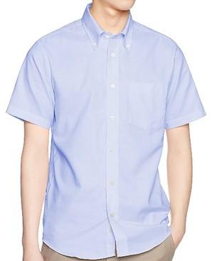 AIMY メンズ 半袖 オックスフォードシャツ 00805-SOM 6色こみこみアソート18枚セット