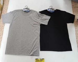 紳士 綿混半袖  丸首 Tシャツ 夏通年 夏用メンズ肌着特集!! 1セット40枚入り 5セットだけ