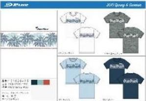 メンズ PIKO ヤシパネル Tシャツ 3色6枚入り 101928454