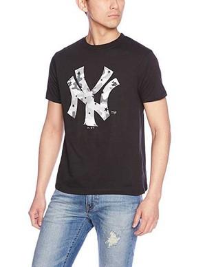マジェスティック ニューヨークヤンキース Tシャツ ロゴカモ柄 22枚 MM01NYK0276