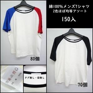 激安☆某ブランド特価品!!訳アリ 綿100%メンズTシャツ