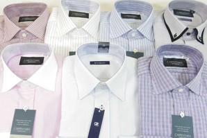 フレックス 長袖Yシャツ 袖が長いサイズ限定のイレギュラーサイズセット
