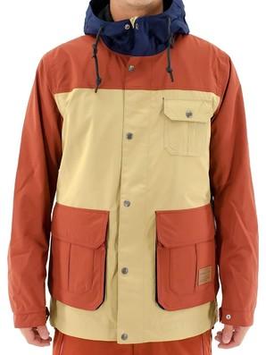 オニール メンズ スノーボードウェア ジャケット スノージャケット (645107) : ベージュ スノボウェア ONEILL