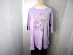 レディス 5分袖Tシャツ LLサイズのみ 4色展開 32枚セット