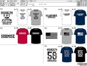 クルー半袖Tシャツ タイプA 30枚入り 196-7011