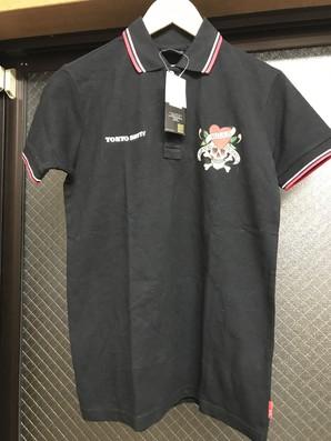 値下り処分!エドハーディー×トーキョーシット別注コラボレーションポロシャツ Mサイズ 1枚限定 定価7800円