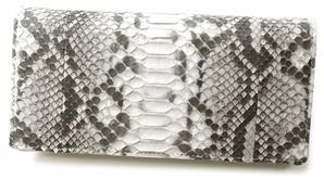 [ロダニア]RODANIA 財布 本ヘビ革(パイソン)製二つ折り長財布 2柄 2個入り