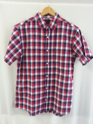 【CINEMA/シネマ】メンズ ブロード半袖シャツ レギュラー 6色展開 36枚セット 品番:186-6000