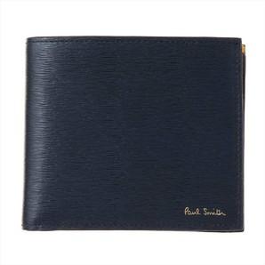 ポールスミス(PAUL SMITH) メンズ 二つ折り財布 AUXC 4833 W905 47 Navy