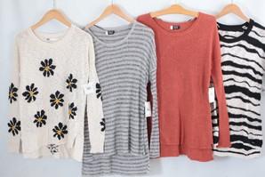 当社在庫!最終処分!!VOLCOM レディスニット セーター 30枚 スペシャル服箱!画像使用OK 国内正規商品 上代1万円以上の商品多数!